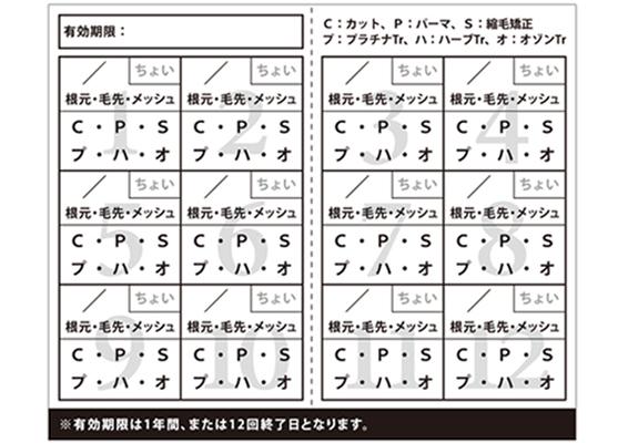カラーパスポートメンバーズカードデザイン(裏)