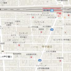 googleマップを必要な縮尺で切り抜きます